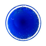 голубой круг Стоковые Изображения