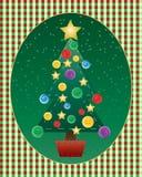 圣诞节刺绣用品 图库摄影