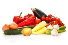 Все еще жизнь фруктов и овощей Стоковое Изображение RF