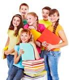 组青少年的人员。 免版税库存照片