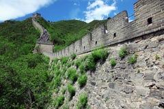 Великая Китайская Стена, Пекин Стоковые Изображения RF