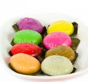 传统草龟蛋糕 图库摄影