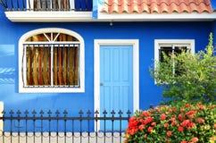 五颜六色的之家 免版税库存图片