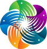 Логос орла Стоковое Изображение RF