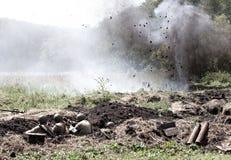 Η μάχη του δεύτερου παγκόσμιου πολέμου Στοκ Εικόνες