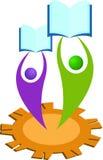 教育徽标 免版税图库摄影