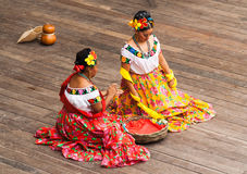 Типичная мексиканская танцулька Стоковое Изображение RF