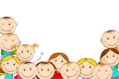 Счастливые малыши Стоковые Фотографии RF