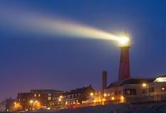 明亮的灯塔射线 库存照片