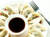 亚洲饺子 库存图片