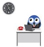 Наблюдать часов работника Стоковое Фото