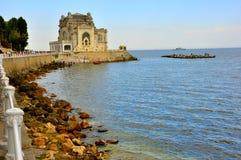 黑海,罗马尼亚 免版税图库摄影