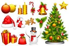 Αντικείμενο σχεδίου Χριστουγέννων Στοκ Εικόνες