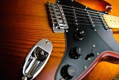 Электрическая гитара Стоковая Фотография