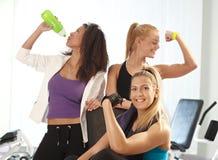 体操的新女性 免版税图库摄影