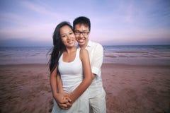 Азиатские пары Стоковое Изображение