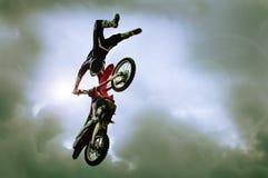 Мотоцикл фристайла Стоковое Изображение