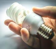 Η ενέργεια σώζει το βολβό Στοκ Εικόνες