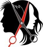 Логос принципиальной схемы салона Стоковое Фото