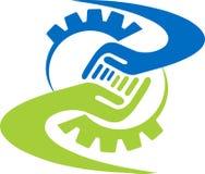Λογότυπο φίλων εργοστασίων Στοκ Φωτογραφία