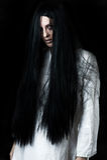 一个可怕鬼魂女孩 免版税库存图片