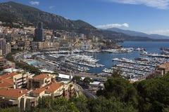 摩纳哥-法国海滨 免版税库存照片