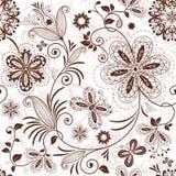 无缝的花卉模式 库存图片