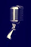 Αναδρομικό μικρόφωνο Στοκ Εικόνα