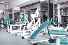 εσωτερικό γυμναστικής Στοκ Εικόνες