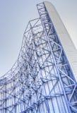 在美国航空航天局艾姆斯的风洞超结构 免版税库存图片