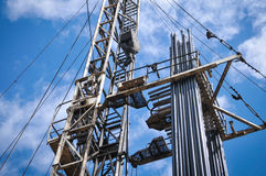 Βιομηχανία πετρελαίου, δυνατότητα επισκευής σκαφών Στοκ Εικόνα