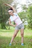 Протягивать мышцы Стоковое Изображение RF