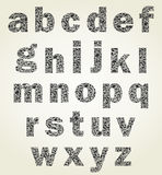 Ζωικό αλφάβητο Στοκ φωτογραφίες με δικαίωμα ελεύθερης χρήσης