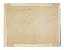 Παλαιά σύσταση εγγράφου Στοκ Φωτογραφίες