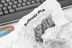 Излученный бизнес-план Стоковое фото RF
