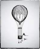 Μπαλόνι ζεστού αέρα Στοκ εικόνα με δικαίωμα ελεύθερης χρήσης