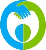 Λογότυπο εμπιστοσύνης Στοκ φωτογραφία με δικαίωμα ελεύθερης χρήσης