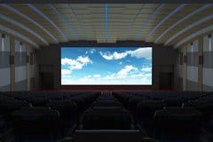 Κινηματογραφική αίθουσα κινηματογράφων Στοκ Φωτογραφία