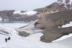 欺骗海岛,南极洲 库存照片