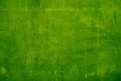 绿色水泥墙壁 免版税图库摄影