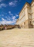 布拉格城堡的详细资料 免版税库存图片