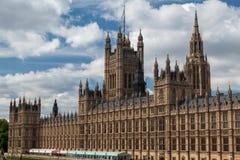 Здание Англия парламента Стоковое Изображение