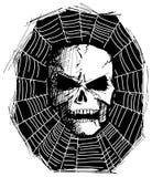 Сердитый череп изверга Стоковые Фотографии RF