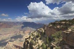 Грандиозный каньон от южной оправы Стоковое фото RF