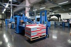 打印机: 数字式卷筒纸印刷机 免版税库存图片