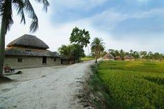 印第安村庄 库存照片