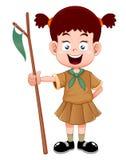 Девочка-скаут Стоковое Изображение RF