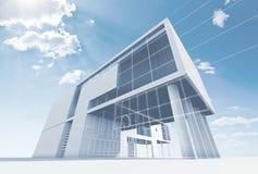 Αρχιτεκτονική γραφείων Στοκ εικόνα με δικαίωμα ελεύθερης χρήσης