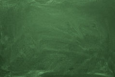 Κενός πράσινος πίνακας κιμωλίας Στοκ φωτογραφία με δικαίωμα ελεύθερης χρήσης