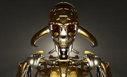 Воин робота Стоковое Изображение RF